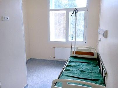 Single patient room.